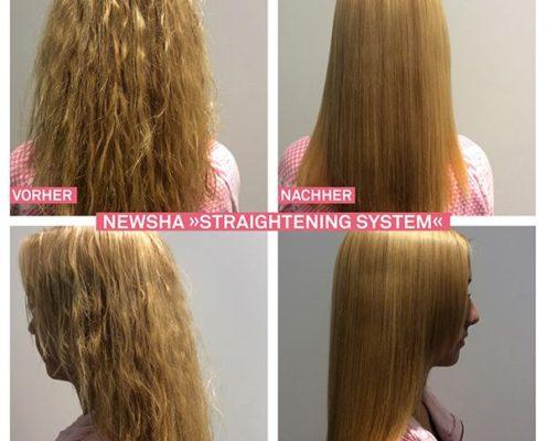 NEWSHA Straightening Ergebnisse